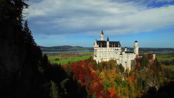 Neues Schwanenschloss, Schloss Neuschwanstein, Bayern, Deutschland