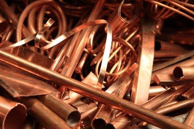 Scrapheap of copper foil