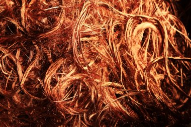 Copper wire recyclable materials