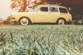 Fotografie Vintage car background.