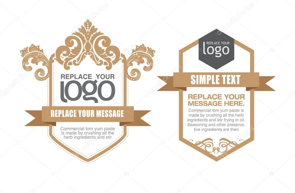 Vector set: thai art design elements and page decoration