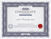 Fotografie Šablona certifikátu