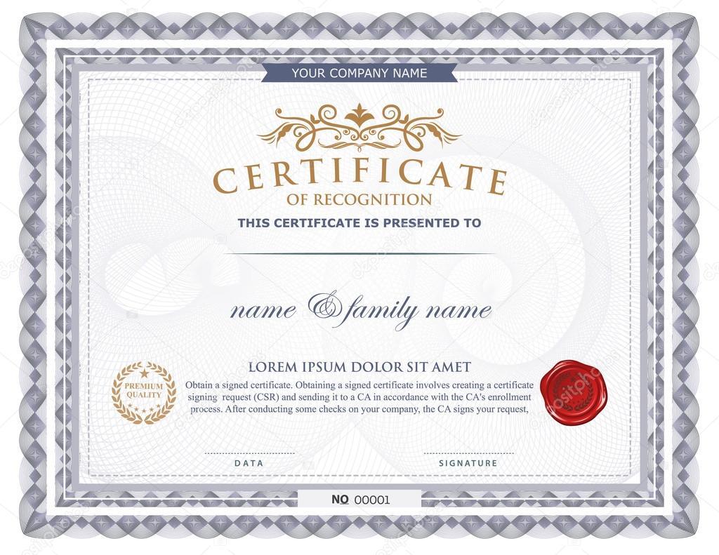 Certificate template stock vector phaisarnwong 65705161 certificate template stock vector alramifo Gallery