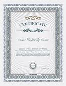 elemento e modello di certificato
