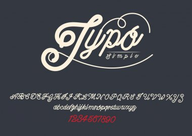 TYPOGRAPHY Design font for you.
