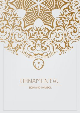 Ornamental element for design,