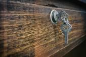Fotografia Immagine due chiavi insieme in loop