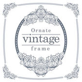 Photo Vintage frames for text input.