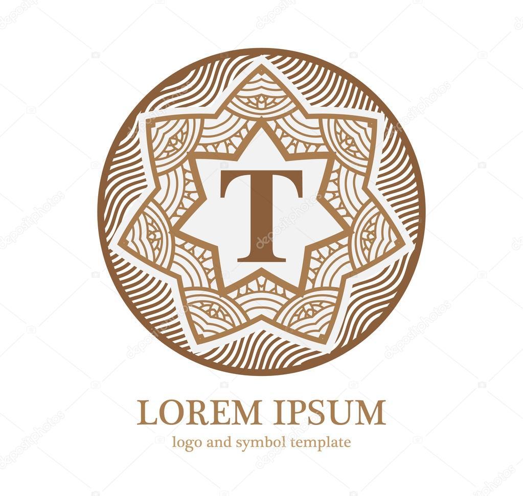 Logo design symbols.