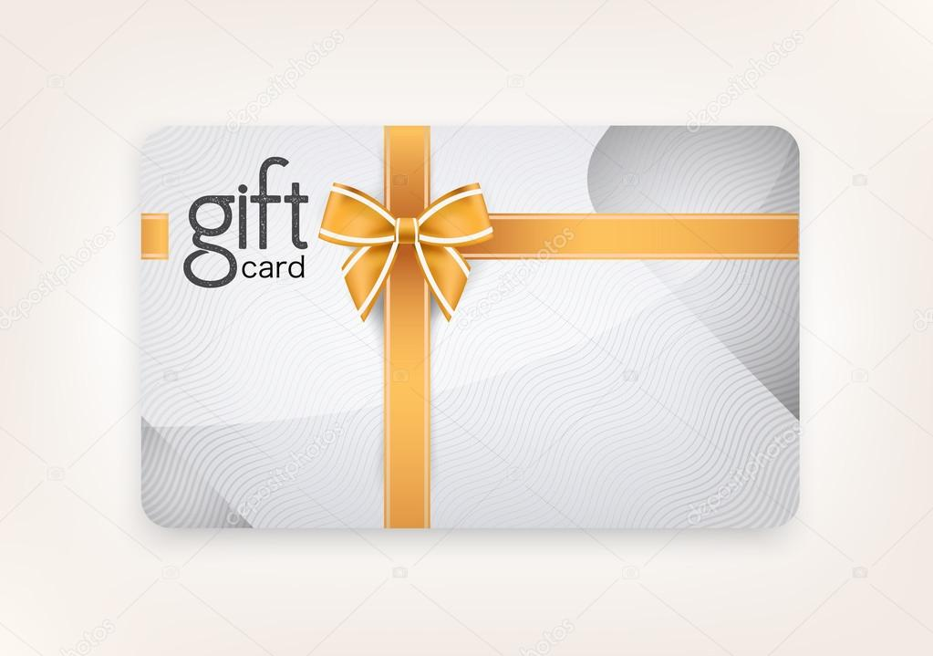 Vector gift card.