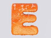 Anglické písmeno E