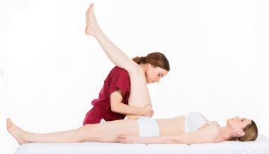 doctor rehabilitation woman patient
