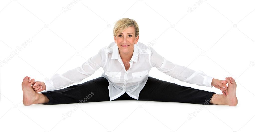 Women open legs