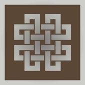Photo Geometric cross celtic symbol