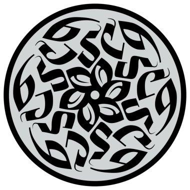 Gothic flower logo