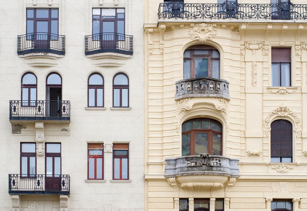 Windows On The Facade In Neo Baroque Style Budapest Hungary Photo By Dmitr86