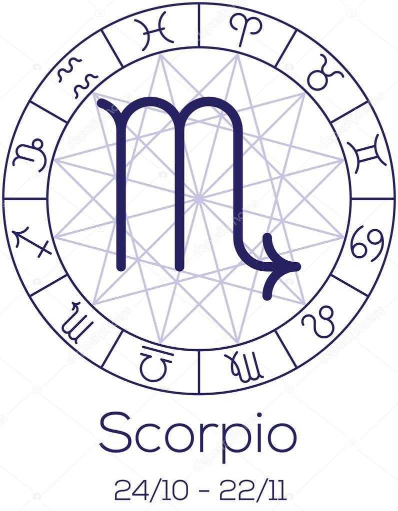 Astrology symbols and dates gallery symbol and sign ideas astrological signs chart image collections free any chart examples zodiac sign scorpio astrological symbol in wheel nvjuhfo Images