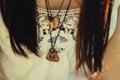 Fotografia accessorio di hipster ragazza alla moda