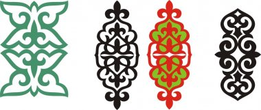 Kazakh ornament 5