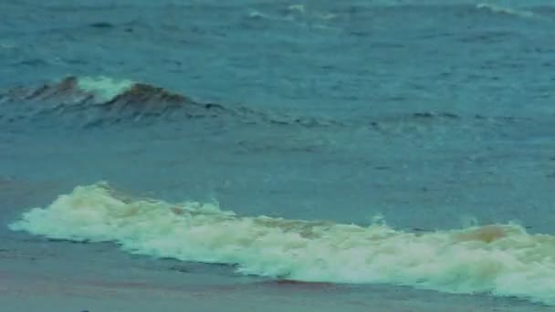 vihar a hullámok a tenger