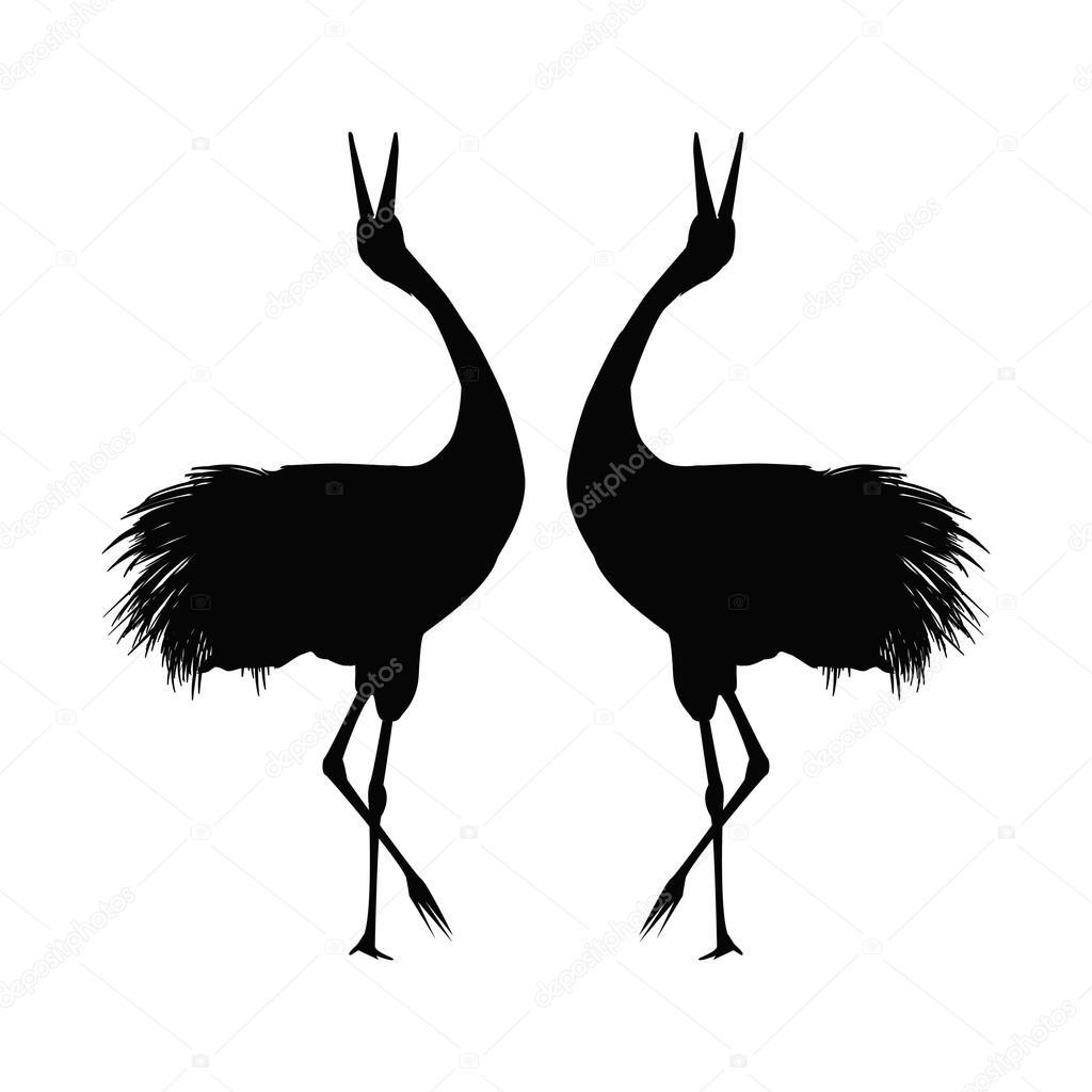 mewarnai oyeye kleurplaat kraanvogels