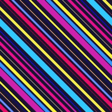 Abstract colorful diagonal striped background.