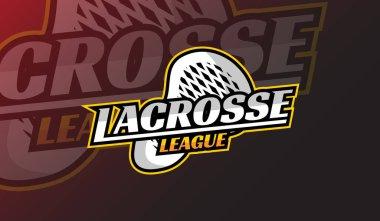Lacrosse Logo sport  team logo  league  tournament  emblem design icon