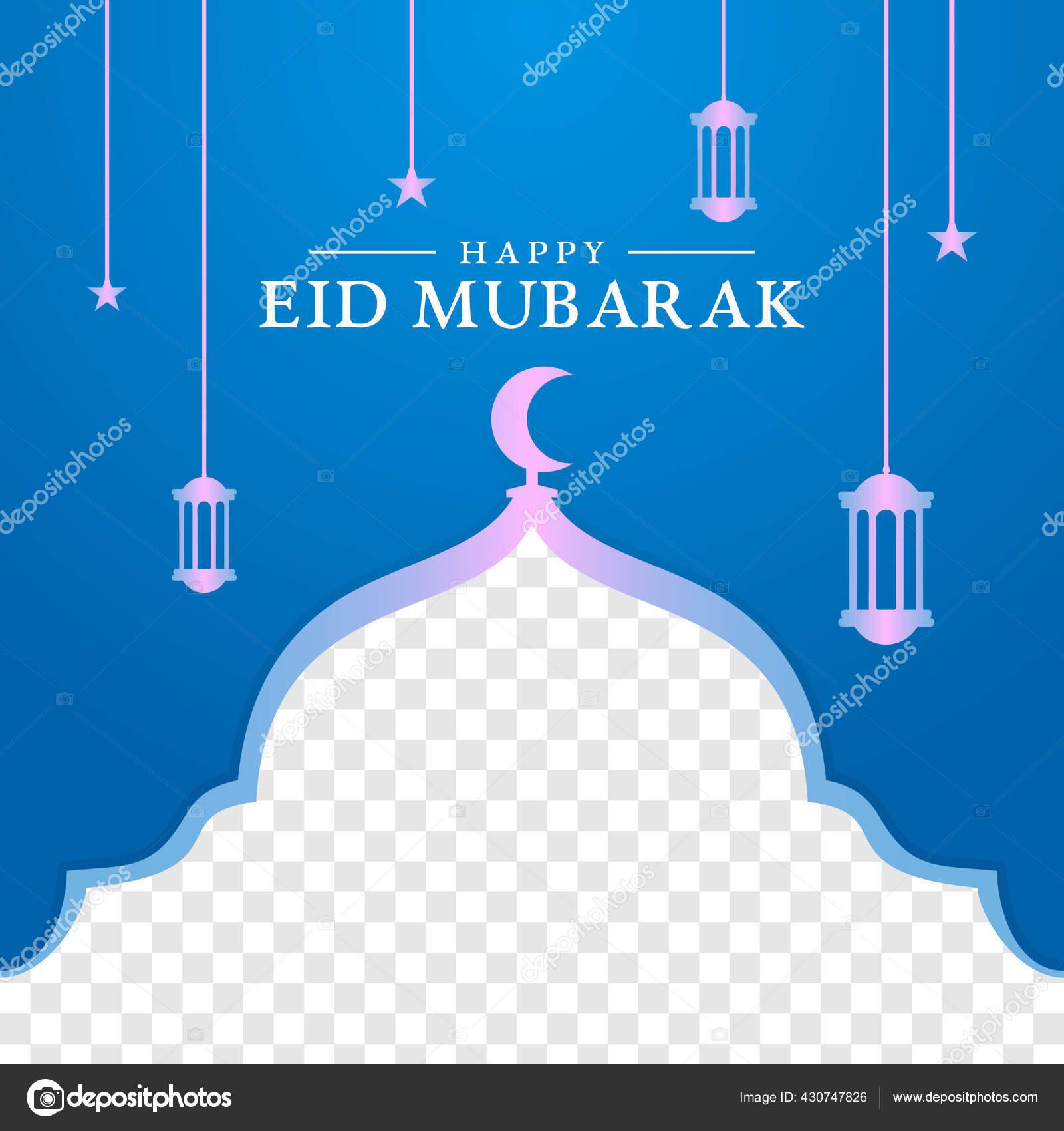 Islamic Background Design Ramadan Kareem Eid Mubarak Stok Vektor C Yzor Std 430747826