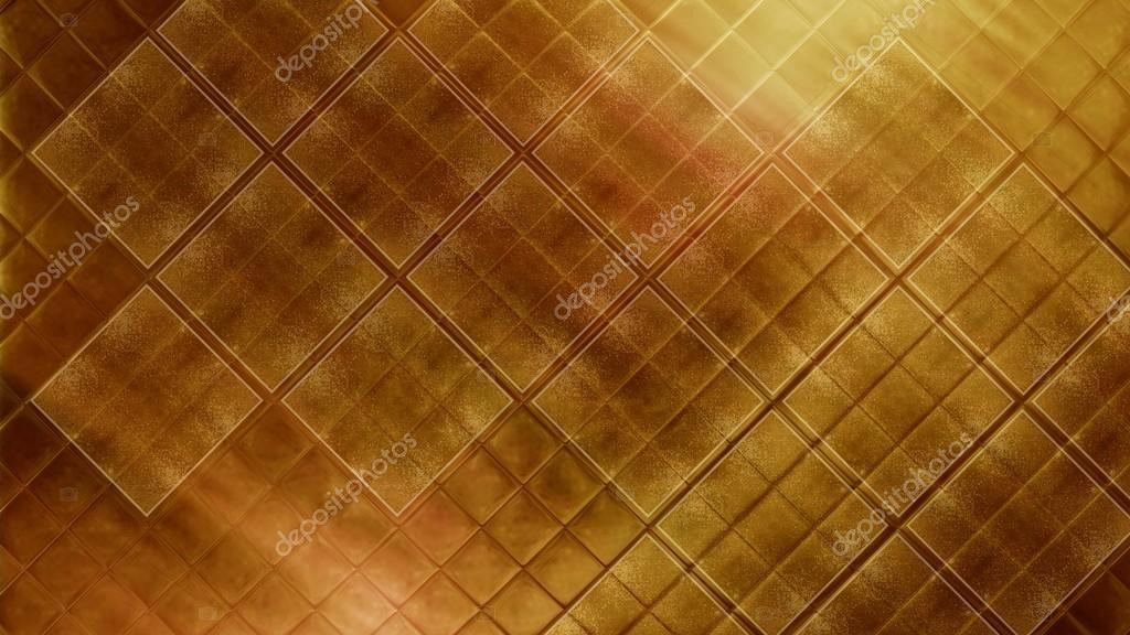 Gouden Mozaiek Tegels : Hedendaagse lichte goud tegelscherven glanzende mozaïek aardewerk