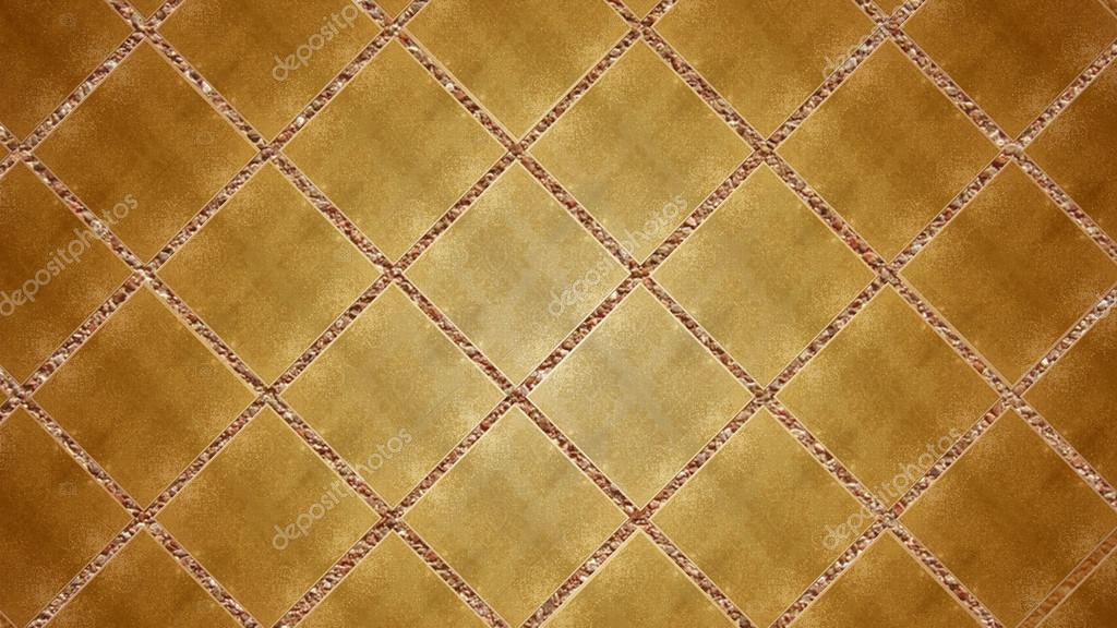 Oro brillante contemporaneo piastrelle mosaico lucido materiale di