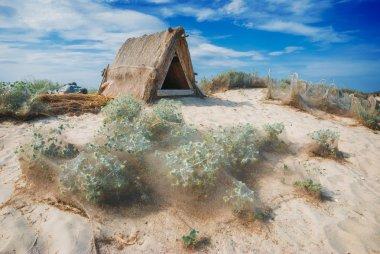 Shelter in a desert 1
