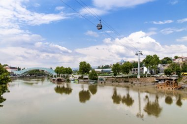Cableway in old Tbilisi