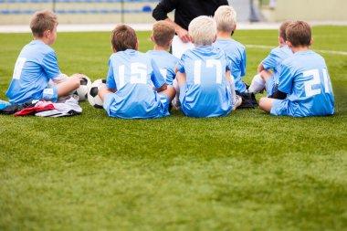 Soccer football coach tactic speech