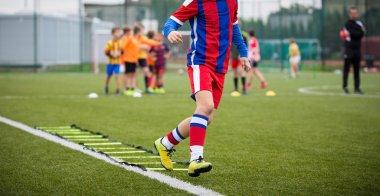 football training session