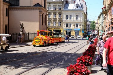 Lviv - 12.062015: Lviv - the historic center of Ukraine, a city