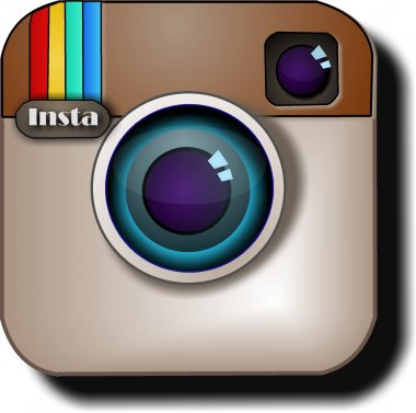 Social networks logo of instagram