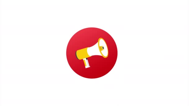 Megaphone Hand, business concept with text join our team. illustration.