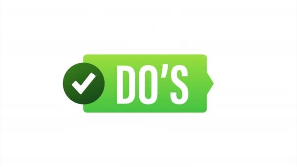 Dos und Donts mögen Daumen hoch oder runter. flaches einfaches Daumen-hoch-Symbol minimales rundes Logotyp-Element setzt grafisches Design isoliert auf weiß.