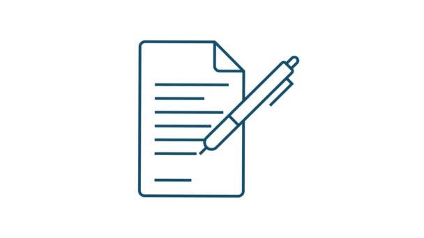 Trendiges Symbol mit Kontaktieren Sie uns Thin line business icon set. für Webdesign. Aktienillustration.