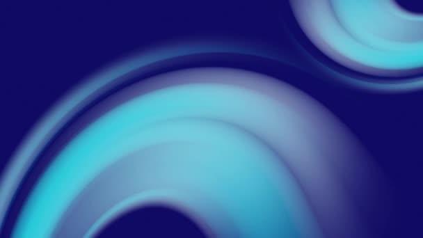 Trendi absztrakt szórólap sablon kék háttér elvont. Geometrikus minta. Hullámséma. Dinamikus folyadék. Mozgókép.