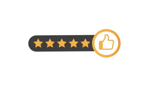 Rating stars. Plochý. Uživatelské recenze, hodnocení, klasifikační koncepce. Užívám si aplikaci. Ohodnoťte. Pohybová grafika.