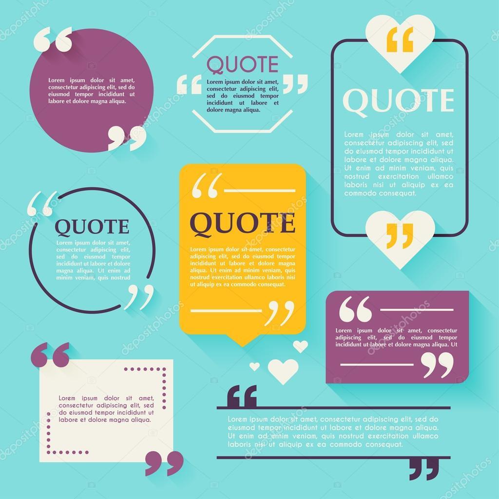Zitat von leere Vorlagen — Stockvektor © Gapchuk_Olesia #101121300