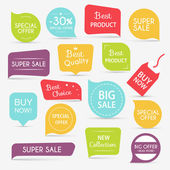 Photo Set of sale banners design