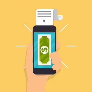 Online and mobile payments concept