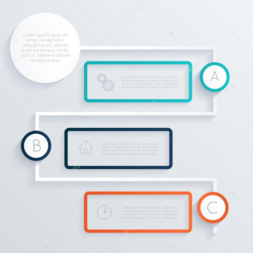 Colourful text box