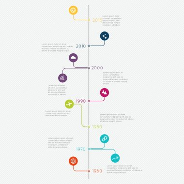 Set of Timeline Infographic Templates