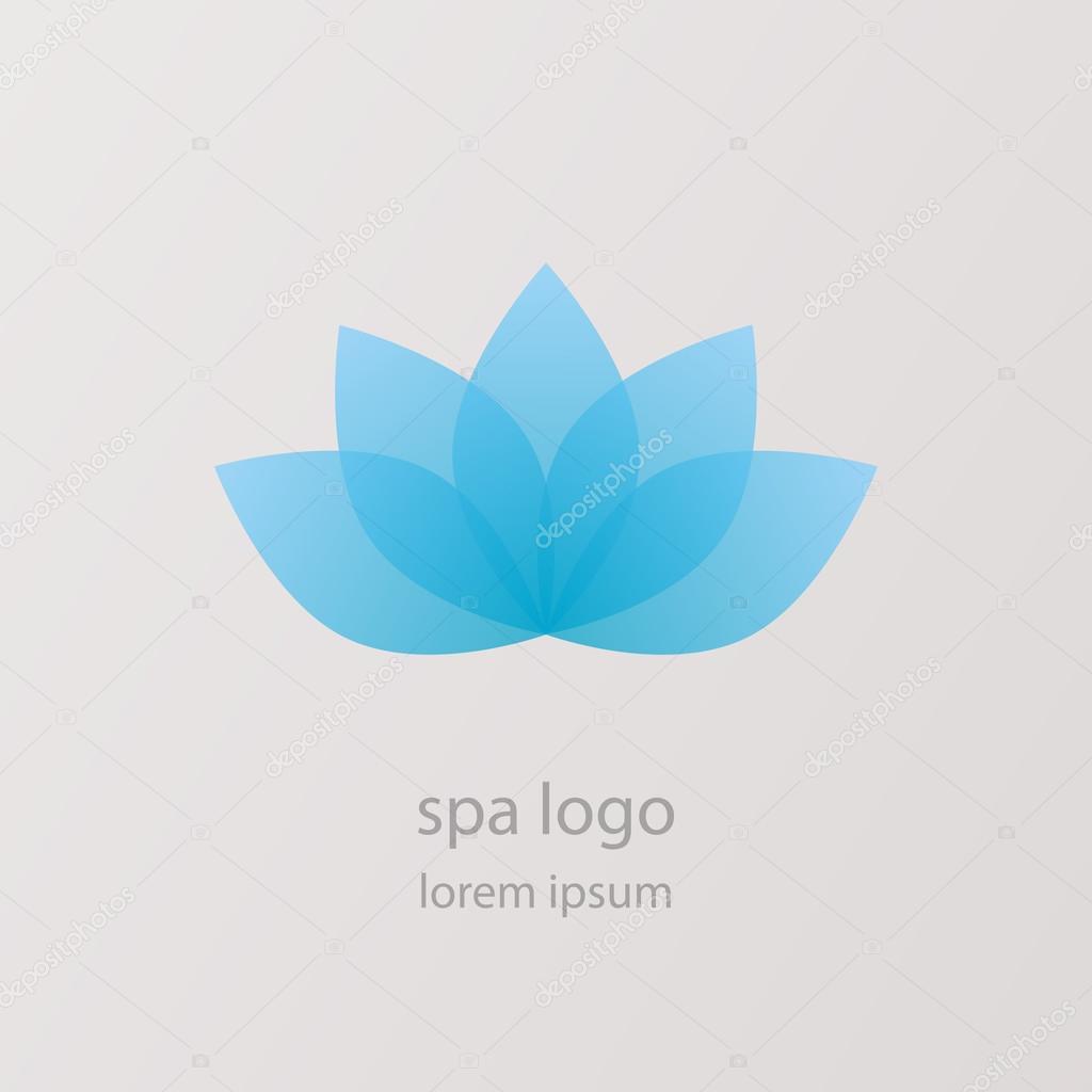Lotus Flower Icon Logo Vector Pics Stock Photos All Sites