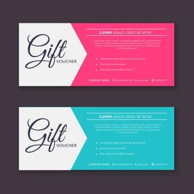 Gift voucher patterns