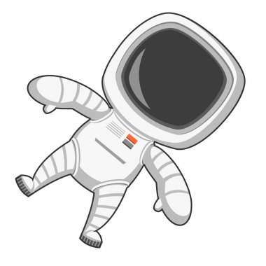 Astronaut in zero gravity