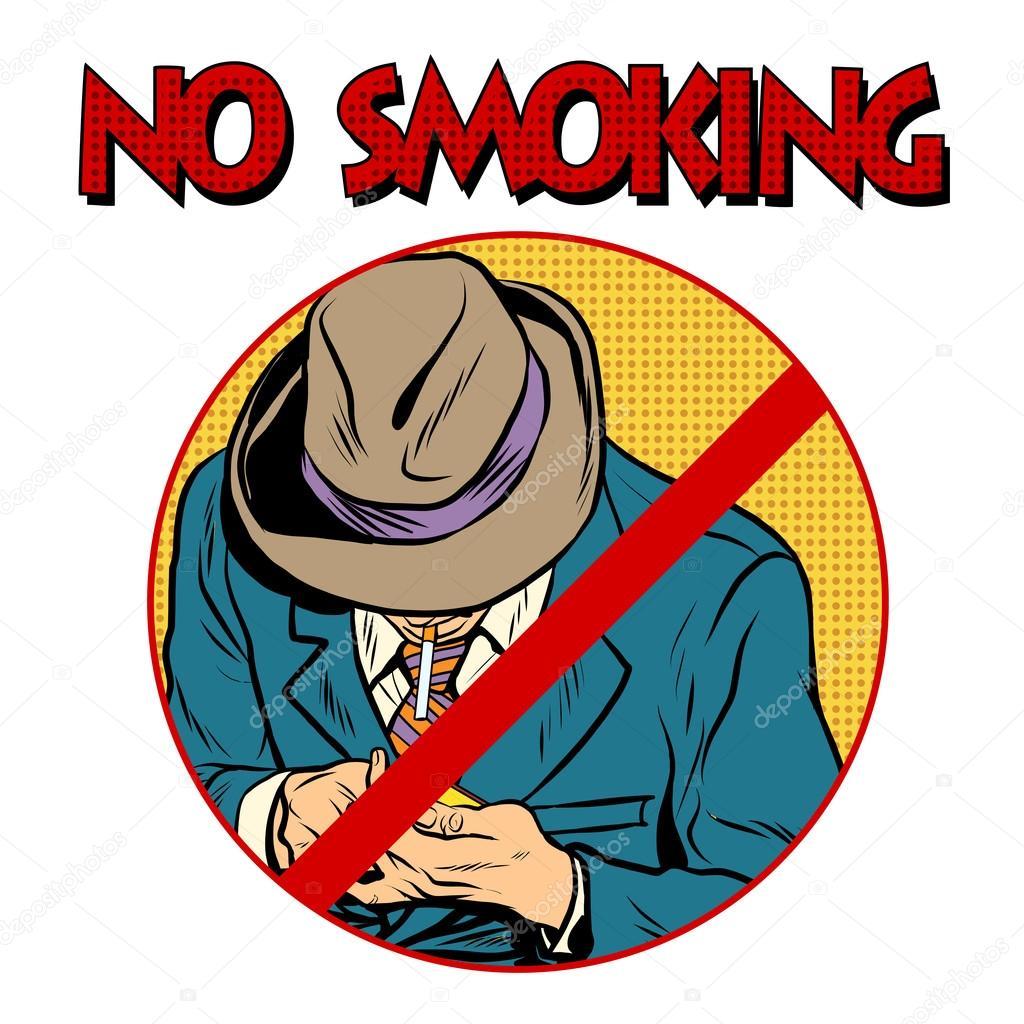Panneau Interdiction De Fumer Image Vectorielle Studiostoks